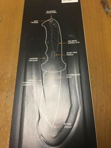 Gerber 06 FAST Thumb Assist Pocket Knife Black Tanto Blade Open NIP