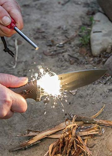 Buck Knives 863 Fixed with Fire Nylon