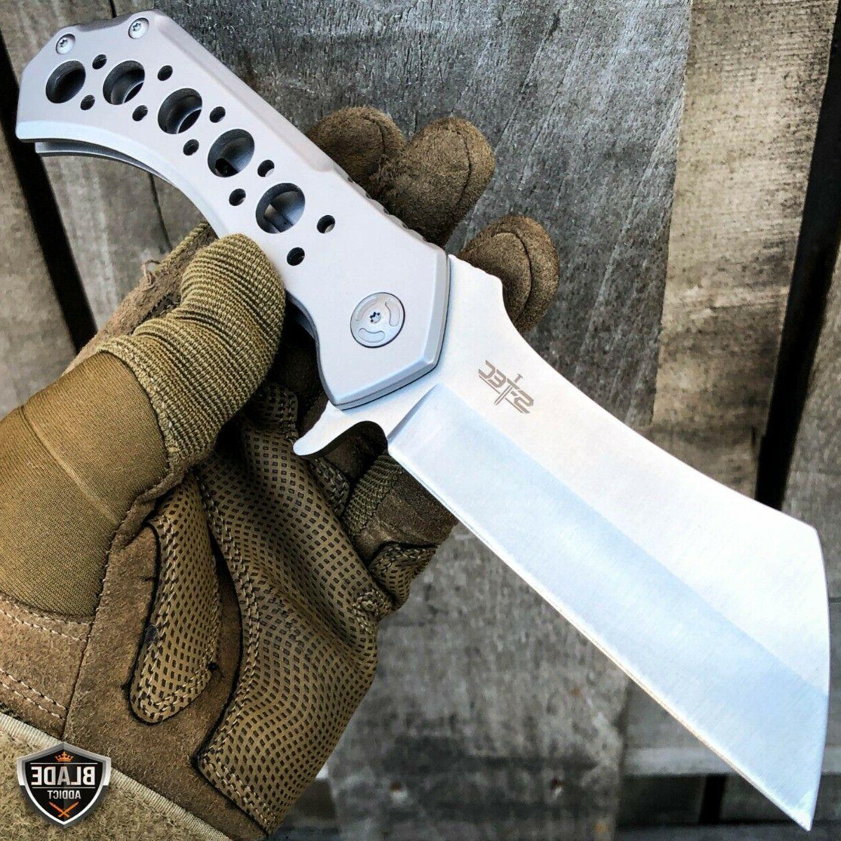 "10"" CLEAVER BEARING Open Pocket Knife NEW"