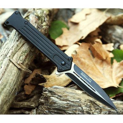 """8"""" TAC SPRING ASSISTED KNIFE Pocket"""