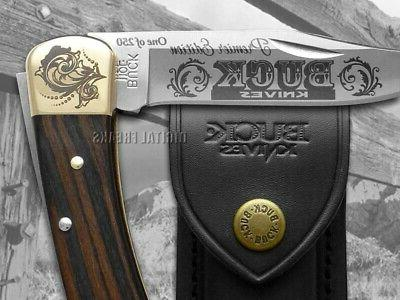 Buck Ebony Folding 1/250 Pocket Knife