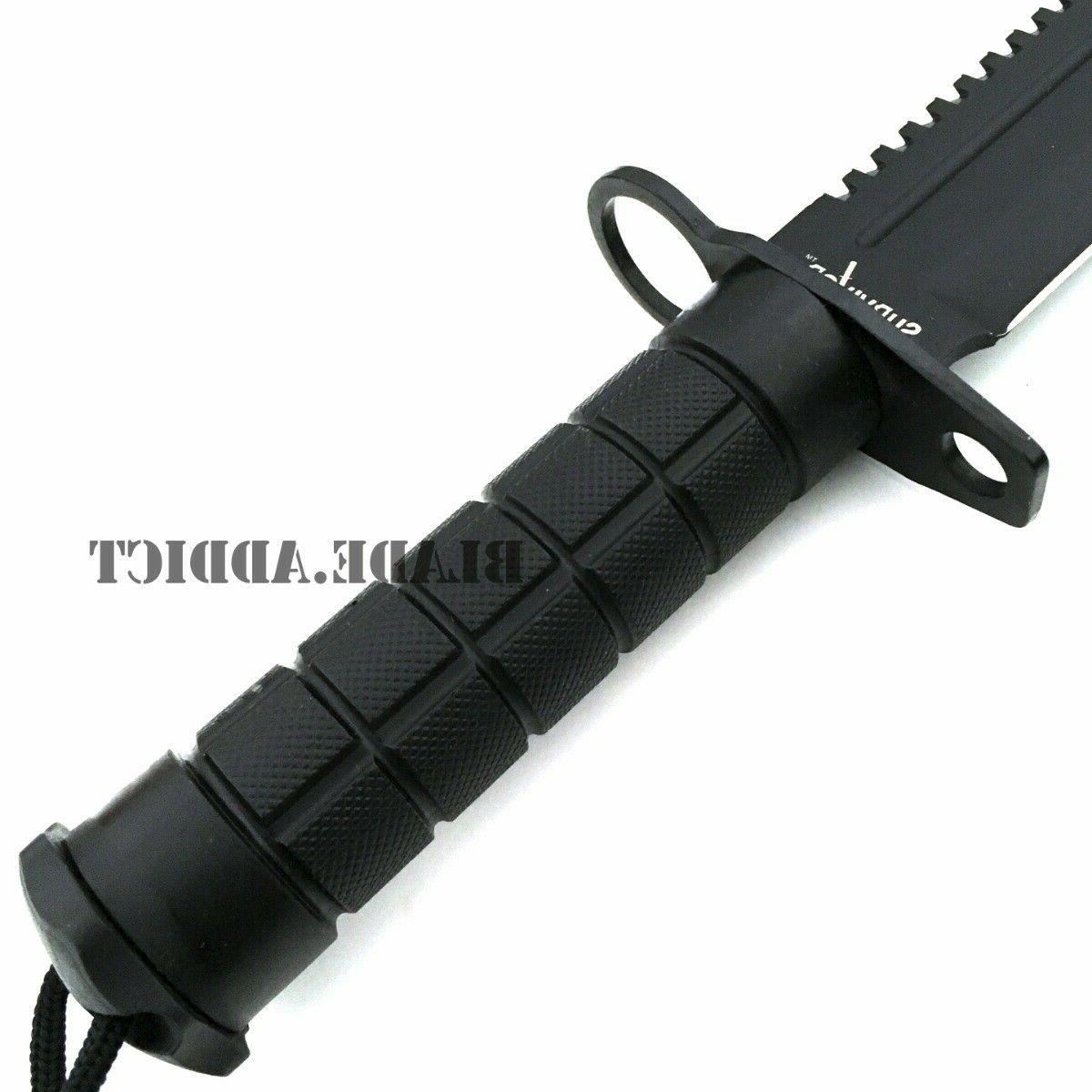 """12"""" Tactical Hunting Combat Blade Machete Bowie"""