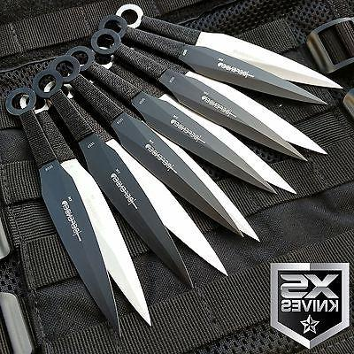 12pc naruto kunai 6 throwing knives ninja