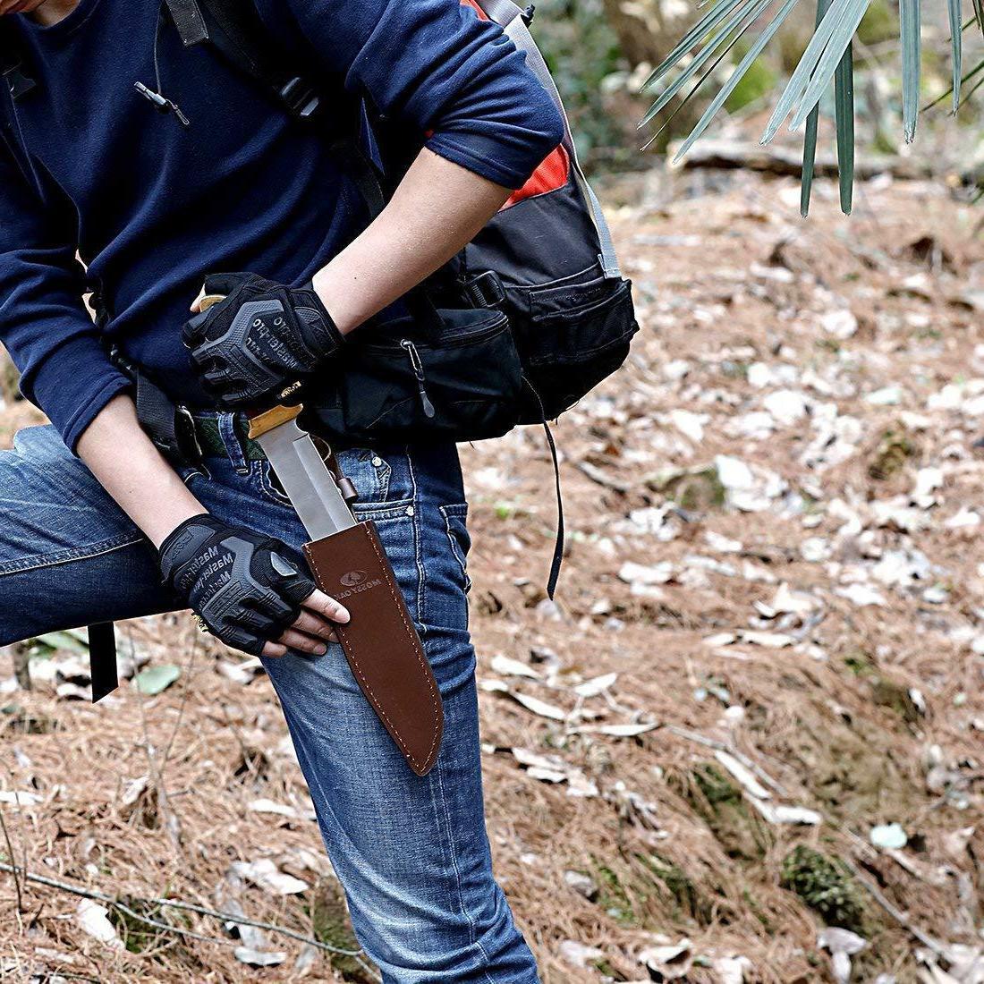 MOSSY OAK Knife Handle Leather