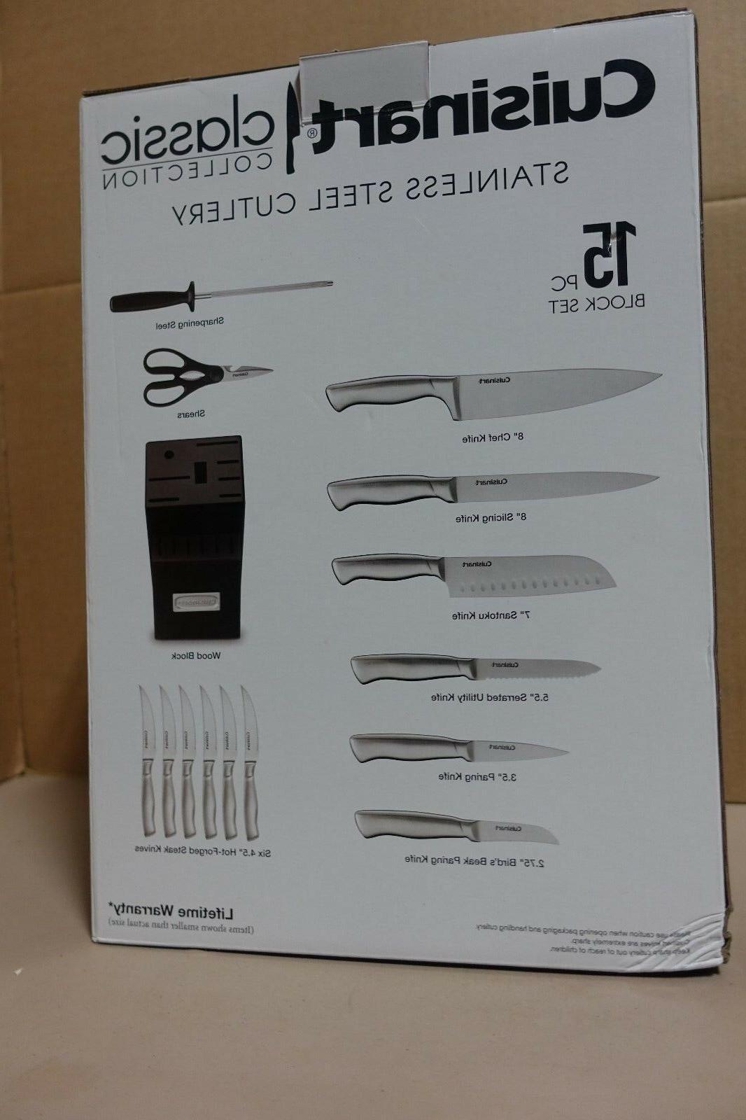 Cuisinart Hollow Knife Block Set --