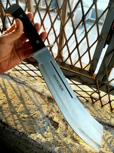"19"" Full Tang HUNTING MACHETE Military Blade Handle"