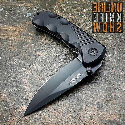 BLACK TACTICAL Assisted Open Blade Pocket Knife