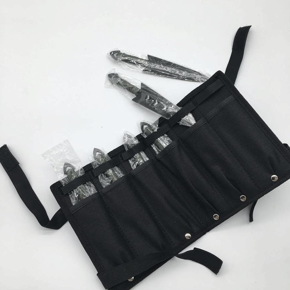 6PC Throwing Knifes Naruto Kunai Case