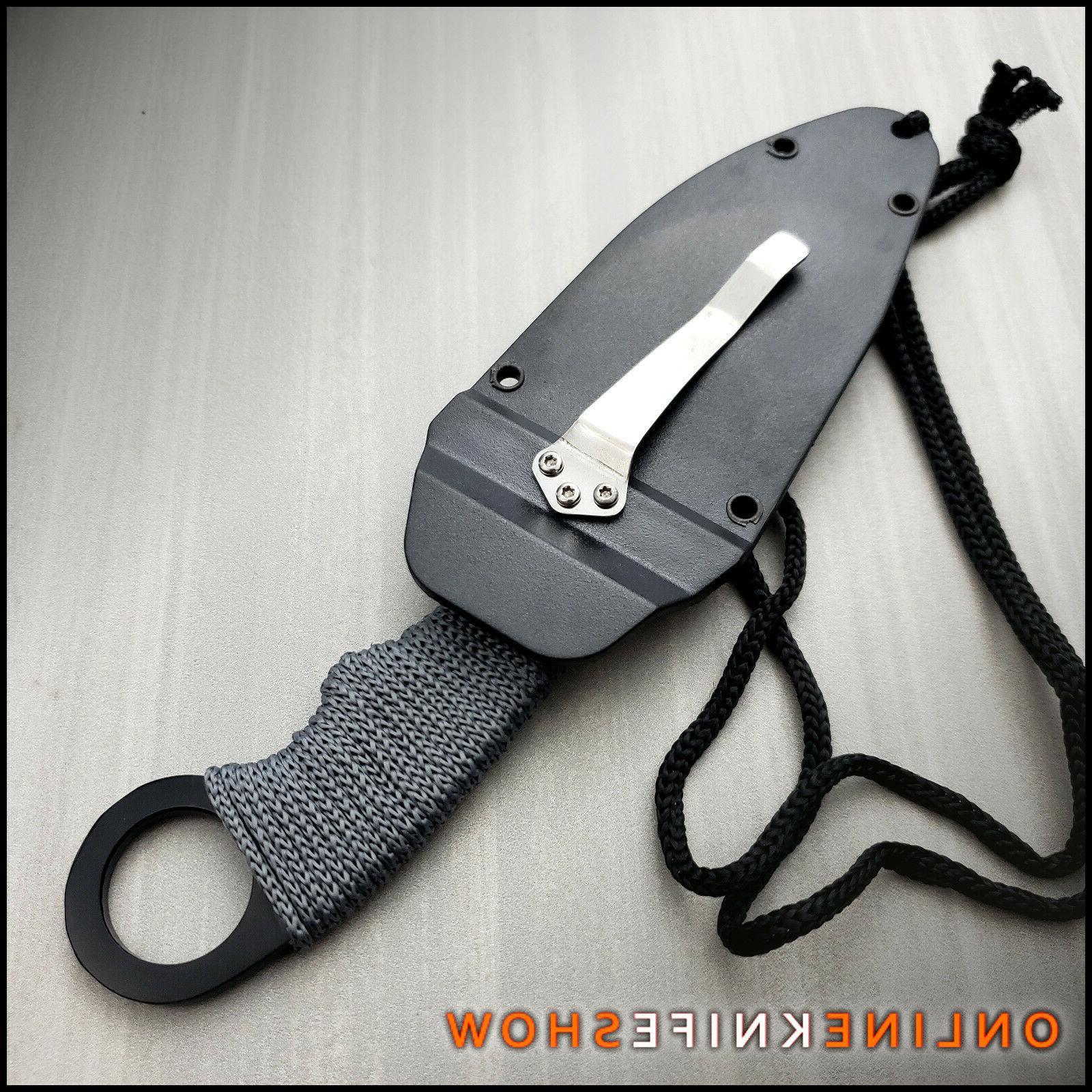 """7"""" FIXED NECK KNIFE EDC"""