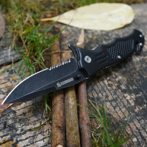 "8"" Tactical Spring Folding Knife Assist Open USA"