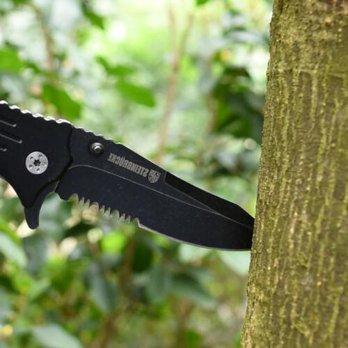 "8"" Folding Knife Pocket Assist EDC Knife USA"