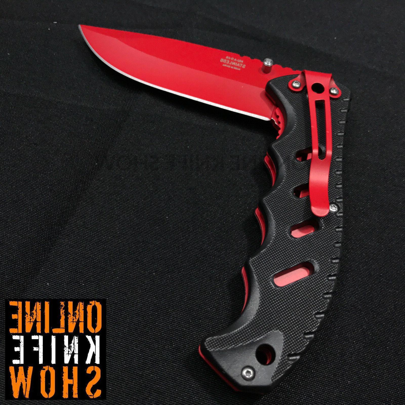 "8.25"" MASTER USA FOLDING Pocket Blade Open Assist"