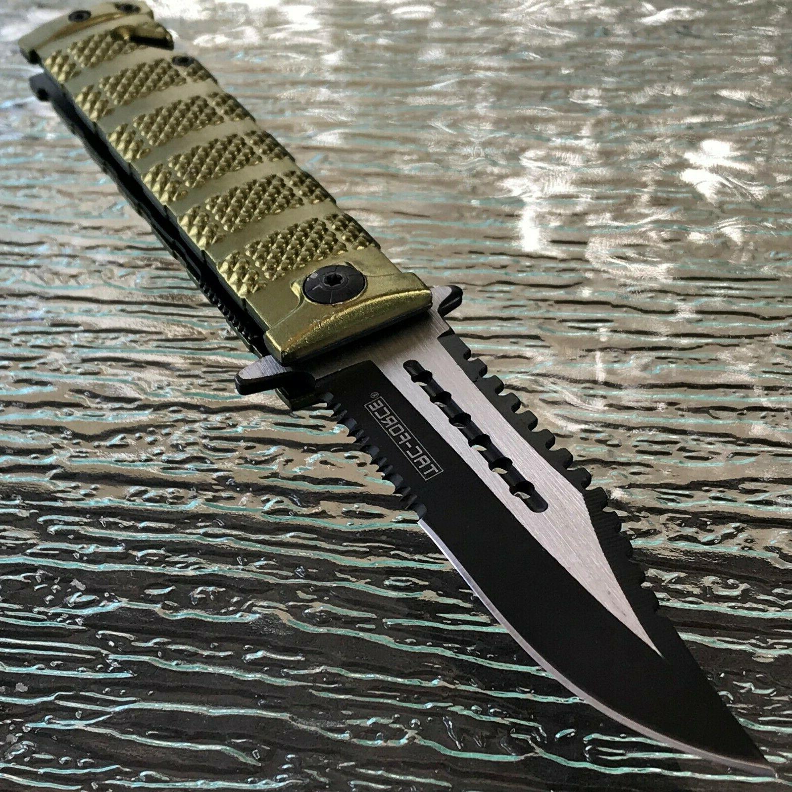 """8.5"""" TAC OPEN FOLDING POCKET KNIFE Blade"""