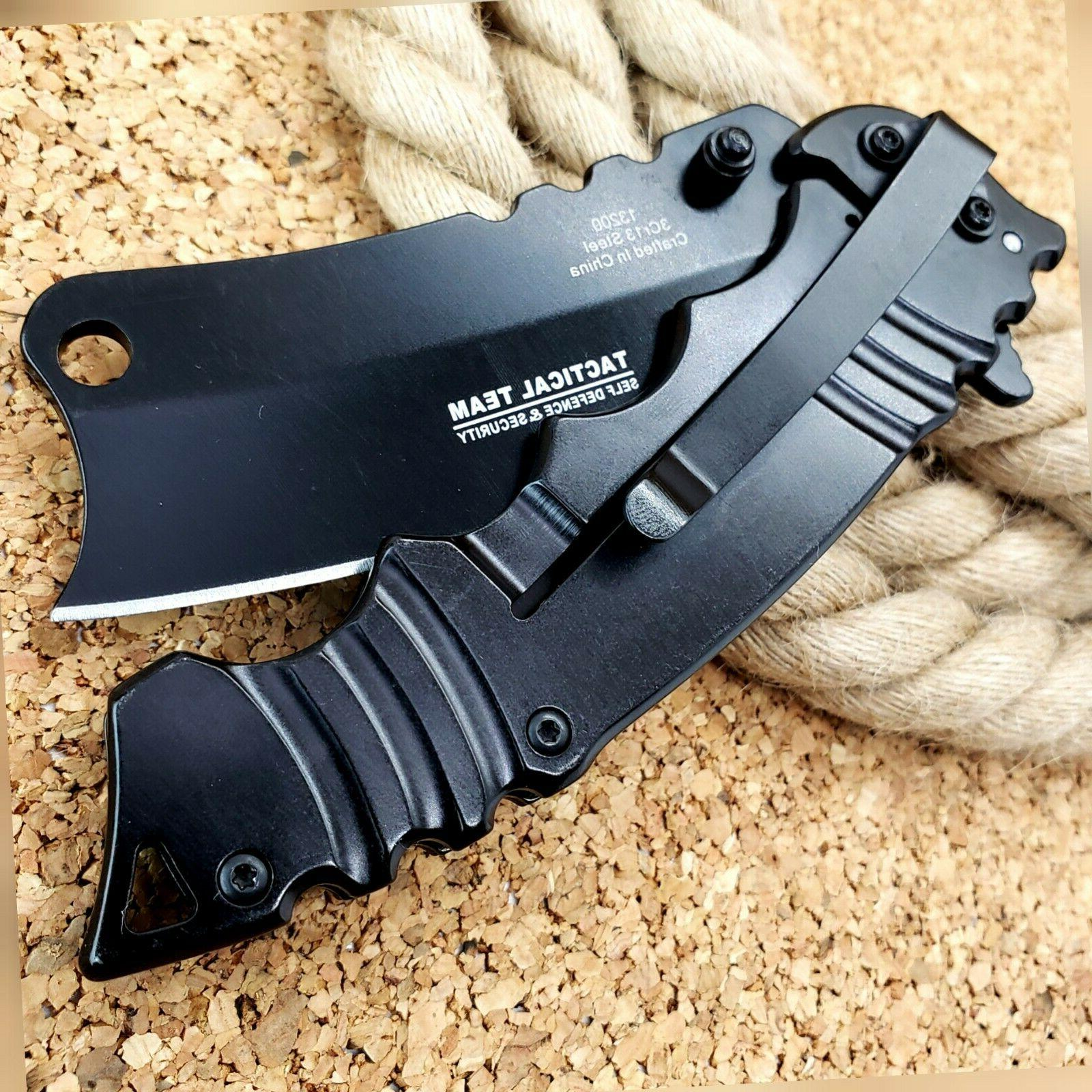 "8.5"" Tactical Assisted Folding Pocket Knife"