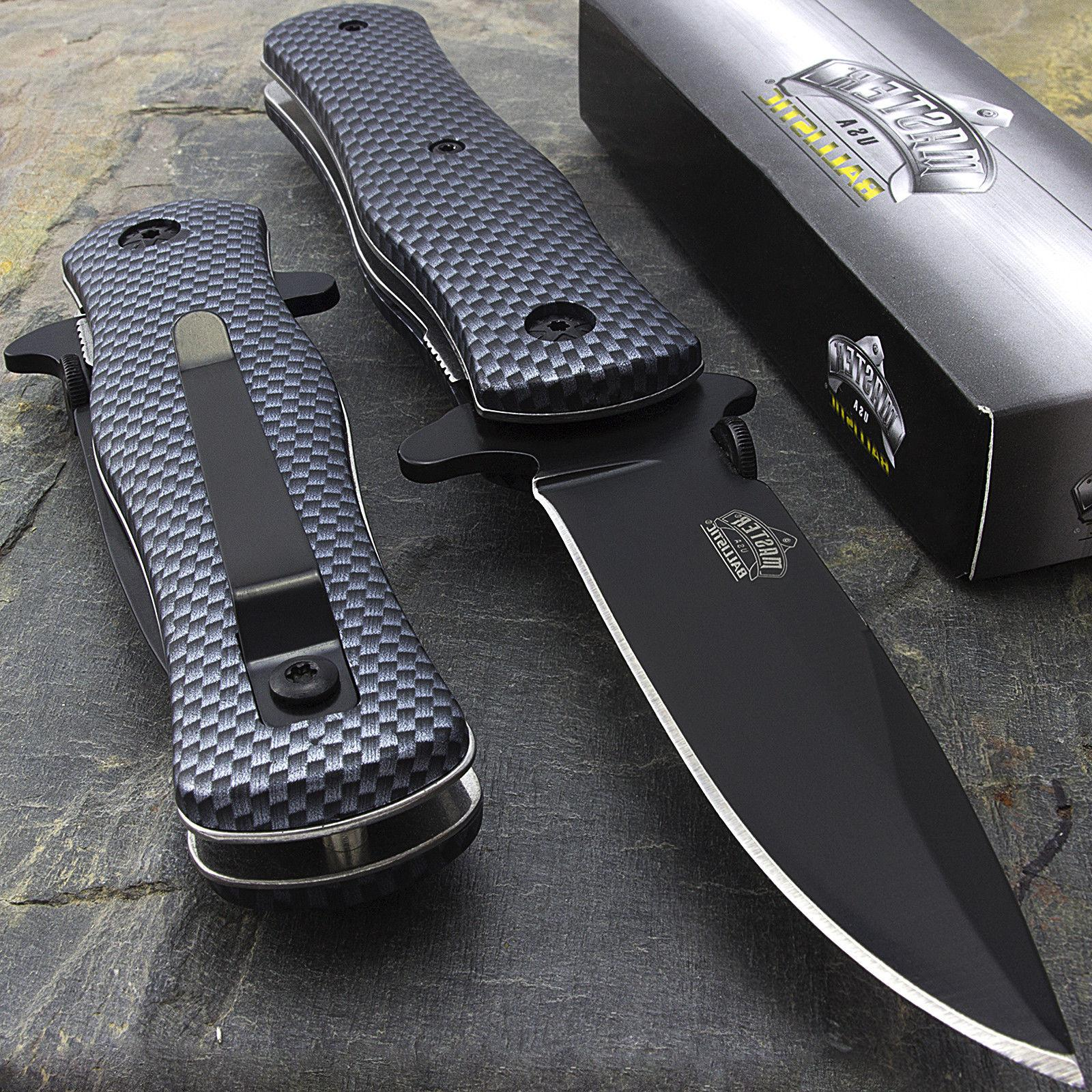 "8"" MASTER USA TACTICAL FOLDING SPRING ASSISTED KNIFE Blade P"