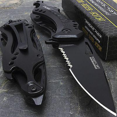 "8"" TAC-FORCE POLICE SPRING ASSISTED OPEN Blade Folding Pocke"
