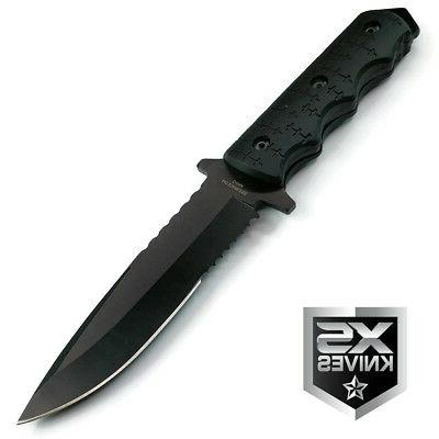 "9"" Navy Combat Military Blade Survival"