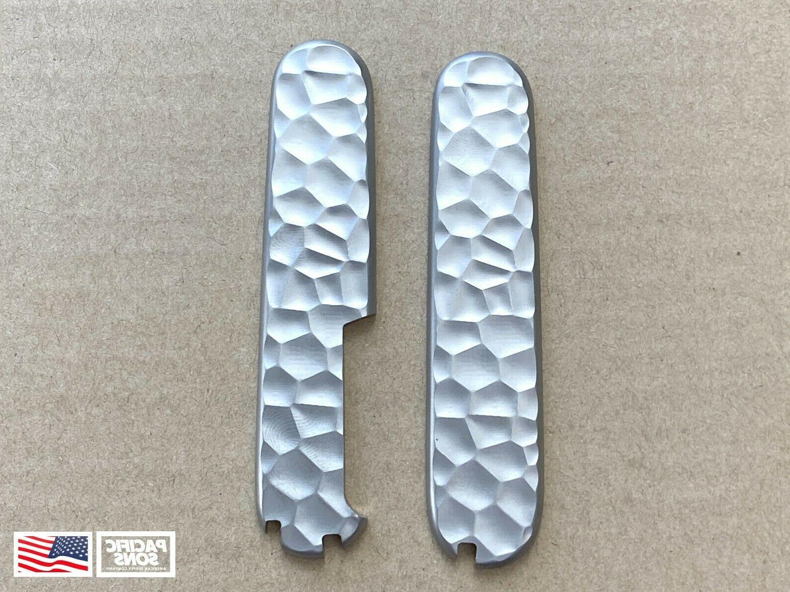 91mm titanium swiss army knife scales rock