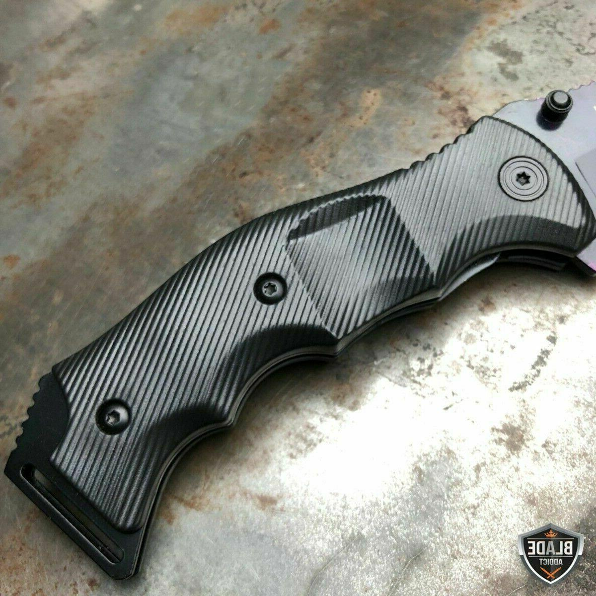 TACTICAL Assisted Pocket FOLDING Blade