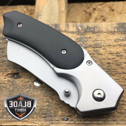 TACTICAL Pocket CLEAVER FOLDING Blade