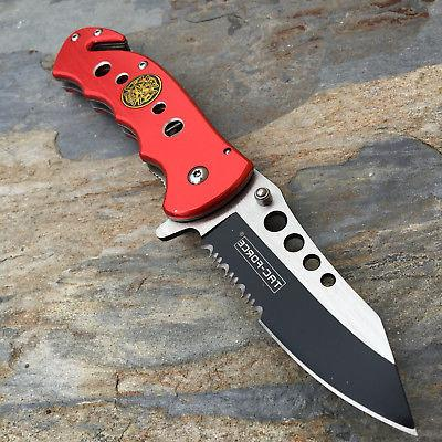 Tac Fire Rescue Knife