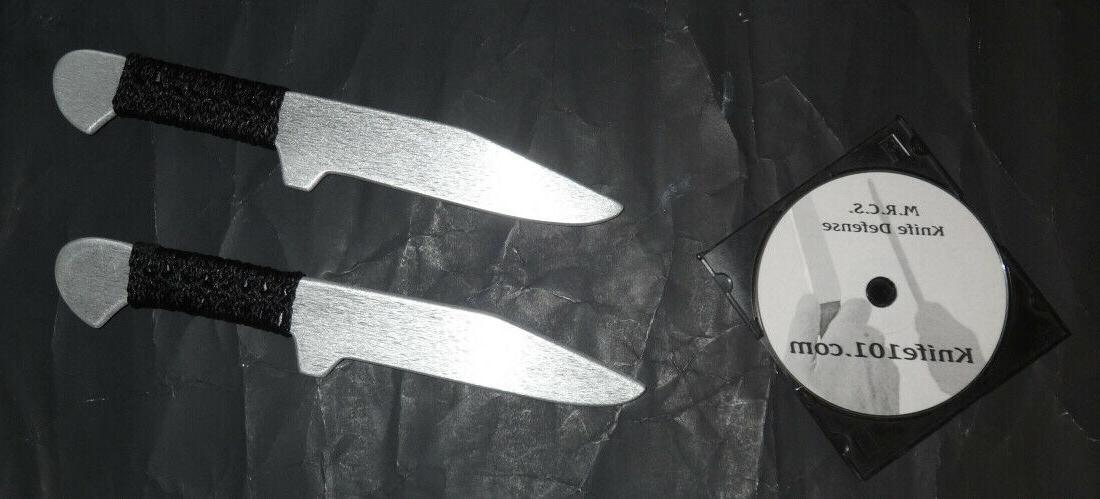 Aluminum Tactical Training Combat Knives & Martial Arts Inst