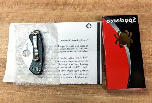Spyderco Balance Knife C141CFP, Box, Discontinued