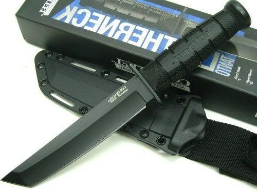 Cold Leatherneck Straight Tanto Blade Knife + 39LSFCT