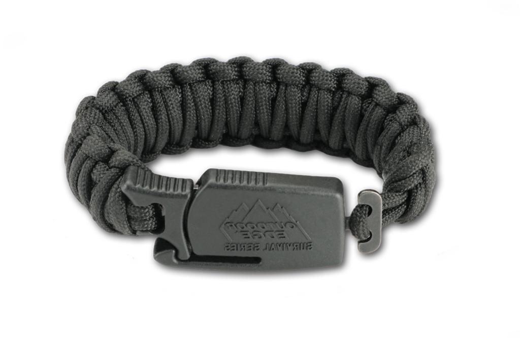 Black Bracelet Tactical Survival