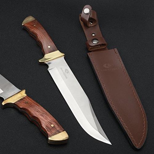 Mossy 14-inch Knife Leather Sheath