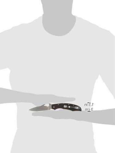 Spyderco Cara Cara2 Black PlainEdge Knife