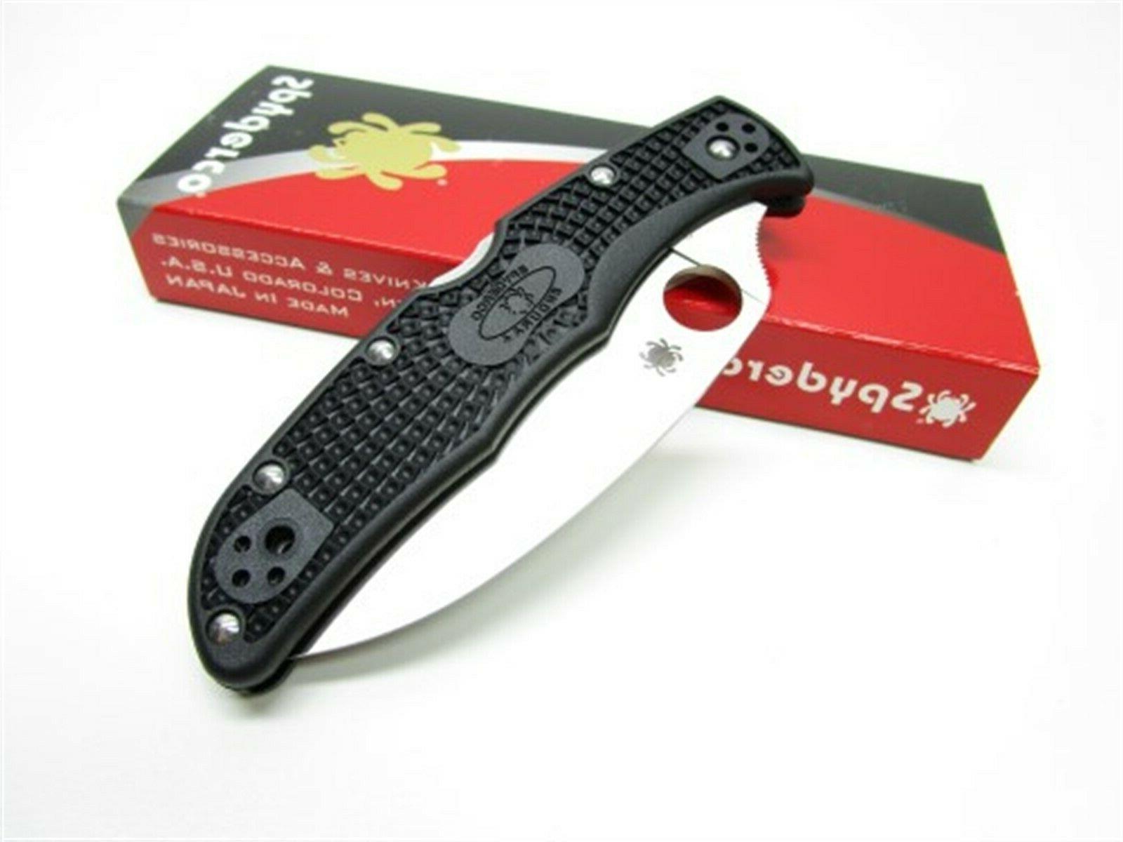 Spyderco 4 Folding Wharncliffe Knife