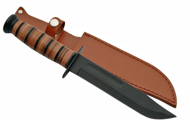 Combat Long, Leather Ka-Bar