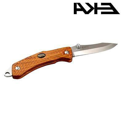 eka swede 9 folding knife rosewood handle
