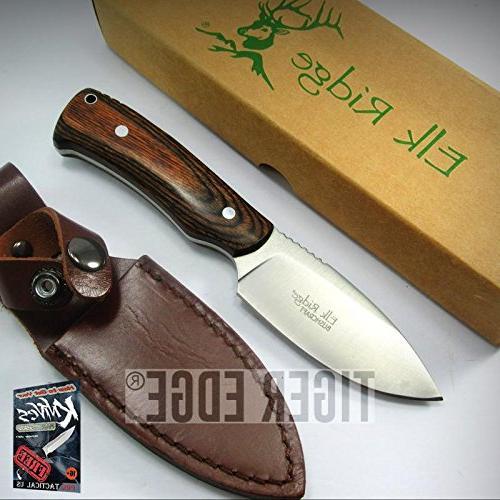 fixed blade elite knife elk