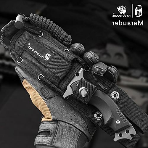 tactical knives Blade outdoor survival knife,Special forces anti-skidding Handle