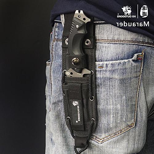tactical Blade survival forces knife,Ergonomics anti-skidding