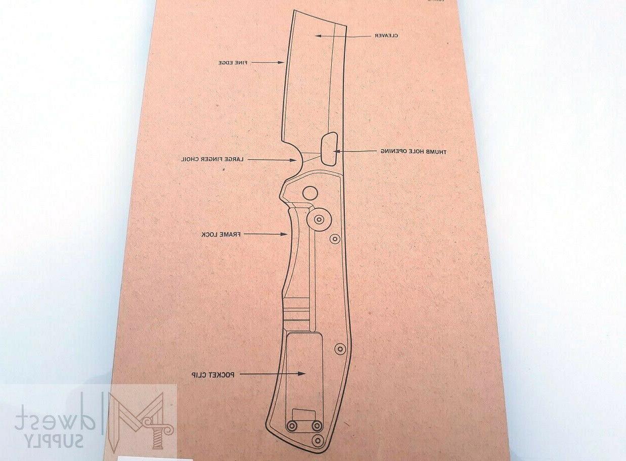 Gerber Folding Knife 7Cr17MoV Steel Aluminum Handle