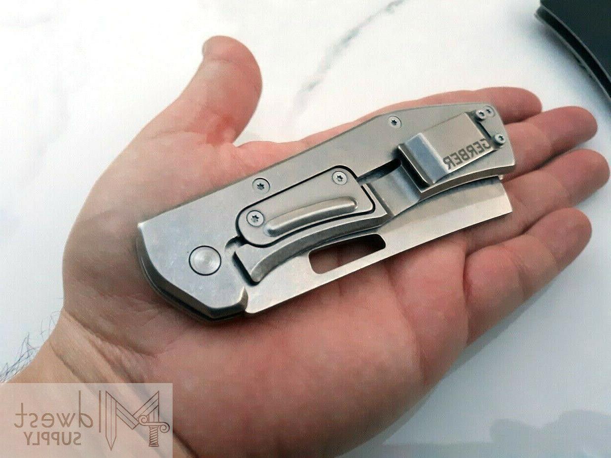 Gerber Flatiron 7Cr17MoV Stainless Aluminum