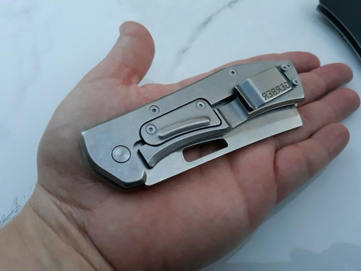 Gerber Folding 7Cr17MoV Steel Aluminum Handle