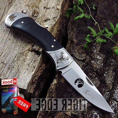 folding pocket knife elk ridge