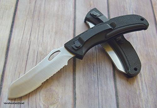 "GERBER DPSF FOLDING IN USA"" RAZOR SHARP BLADE + free eBook by"