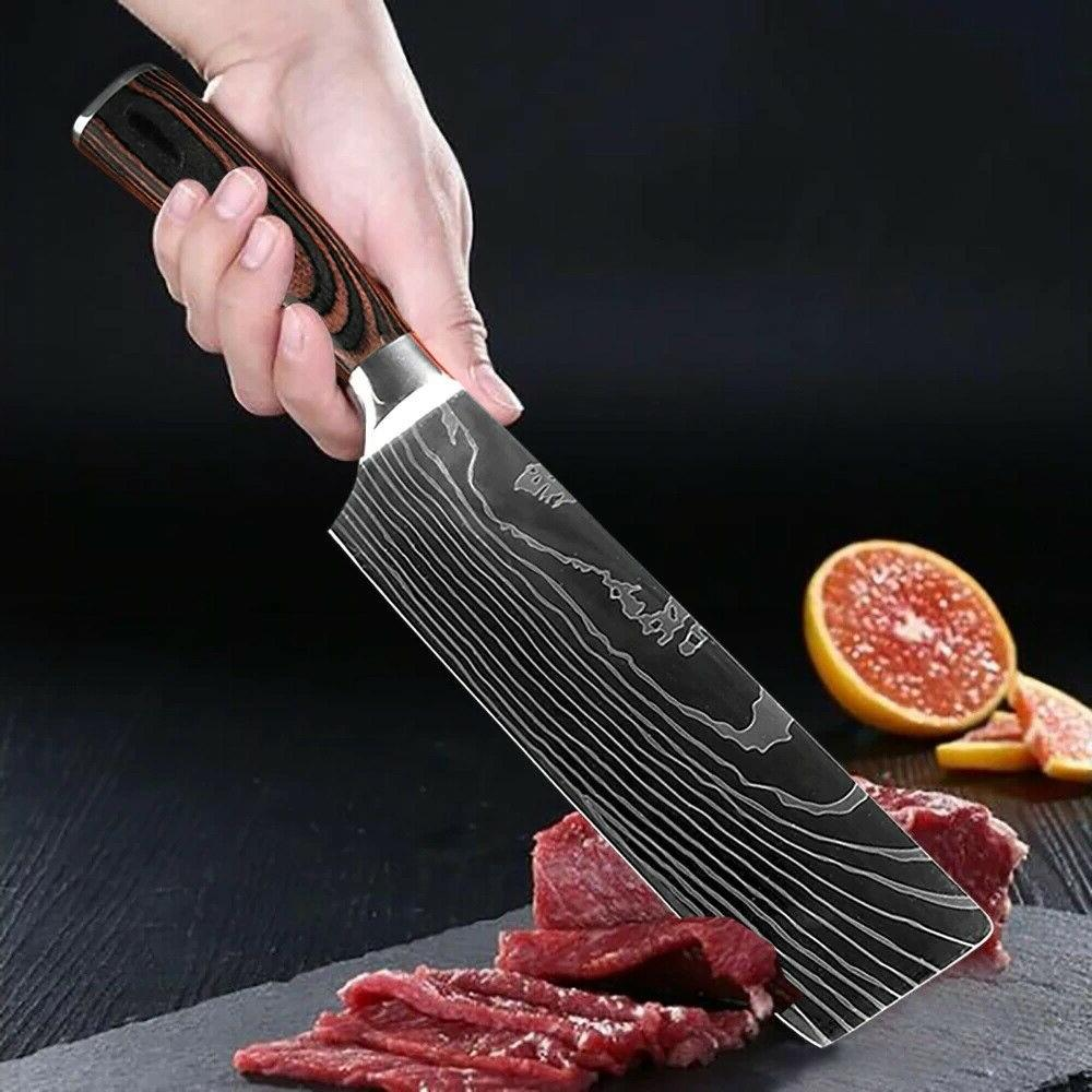 8 Set Stainless Steel Knife