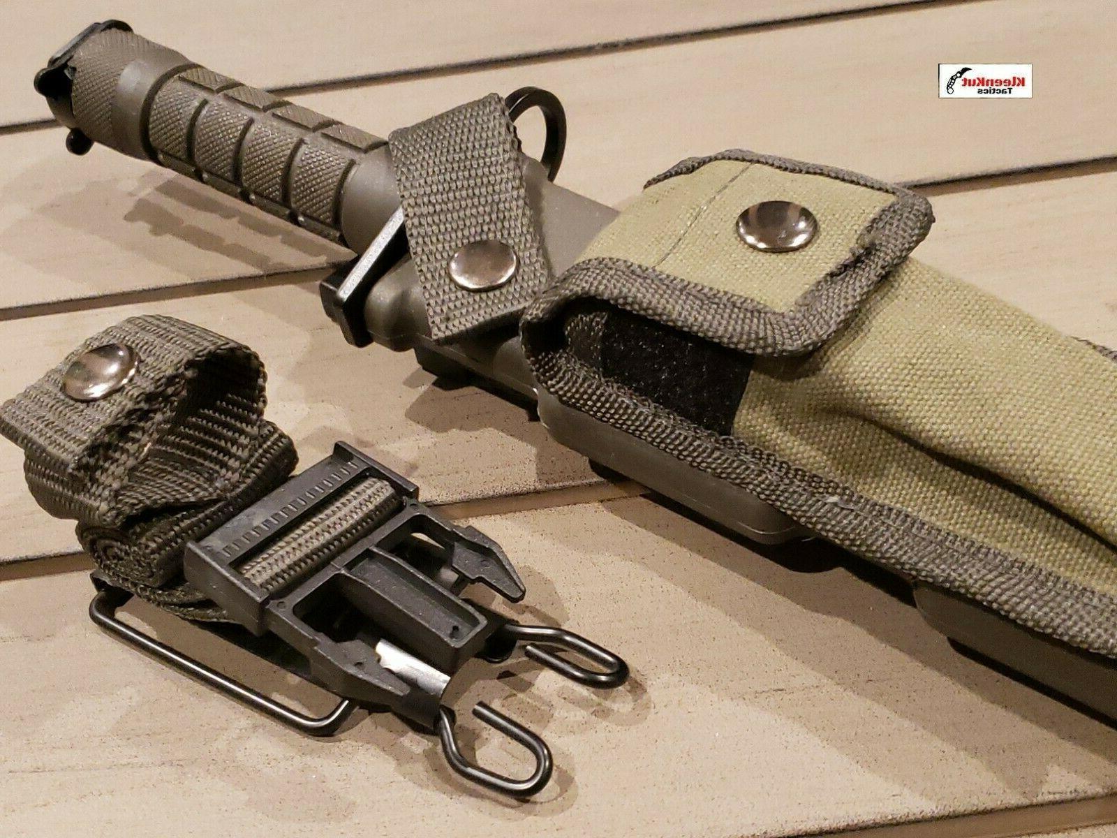 M9 Bayonet Survival Combat Sheath Green