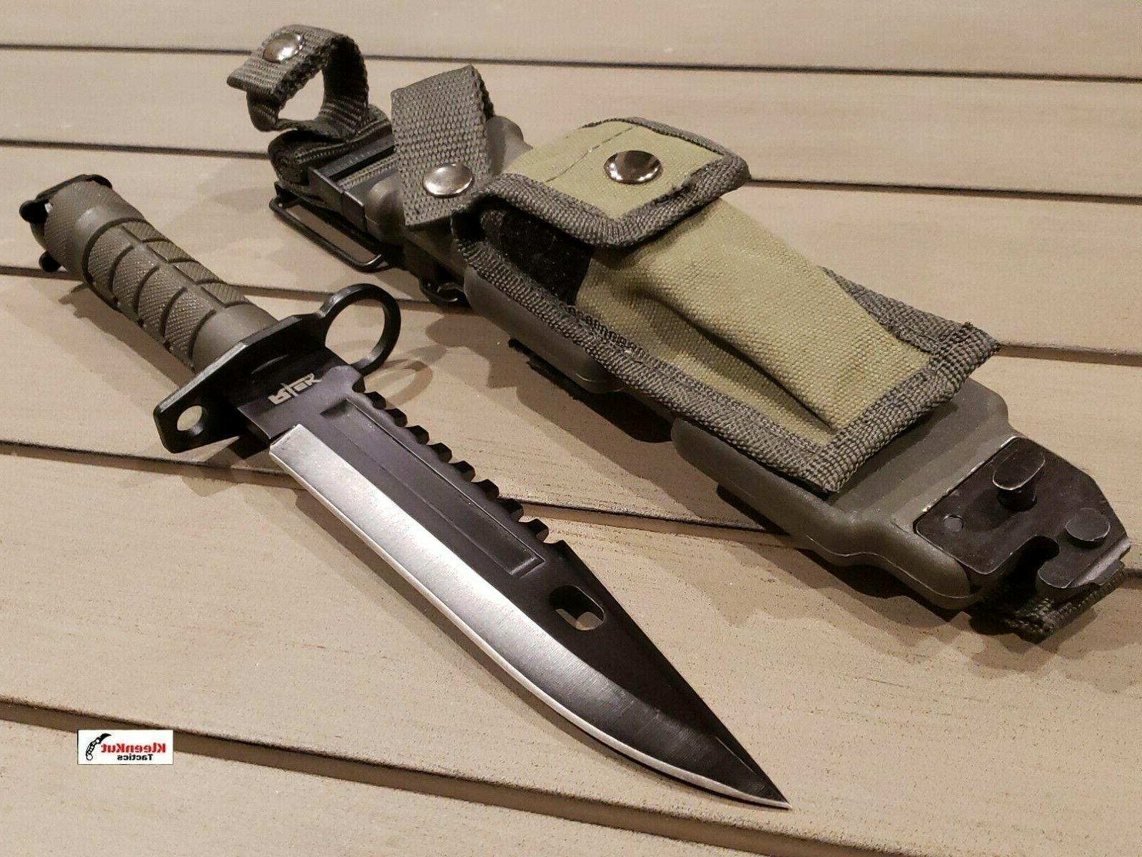 m9 bayonet tactical holster survival combat knife