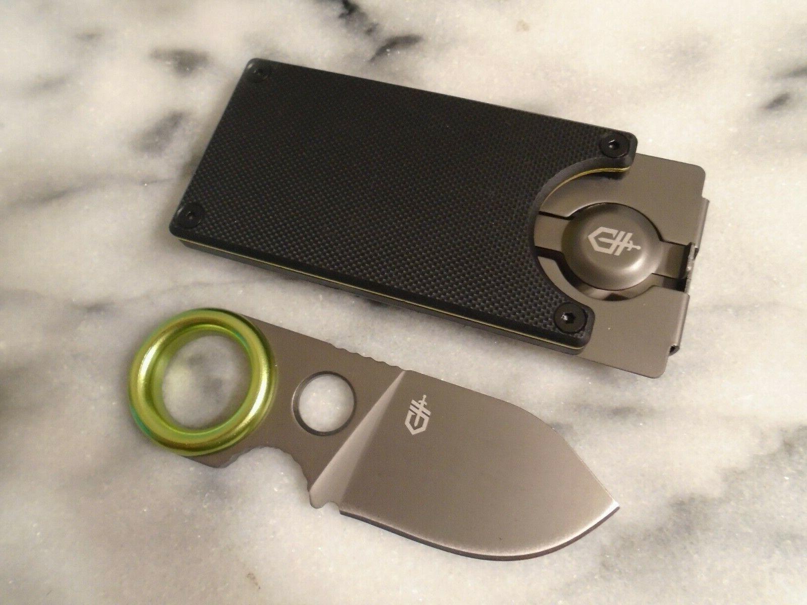 """Gerber Fixed Blade Knife Full Tang G10 3.60"""" OA"""