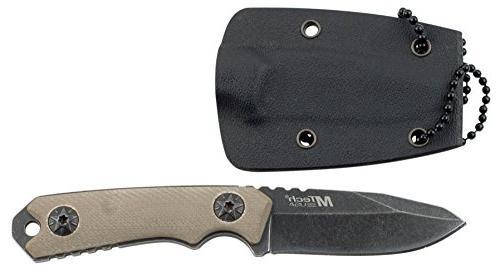 MTech Blade Knife, Drop Point Blade, Handle, 4-3/4-Inch