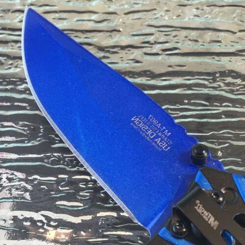 MTECH USA SPRING POCKET KNIFE Open
