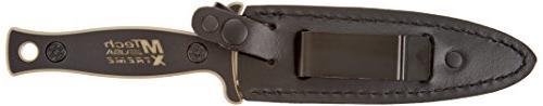 MTech USA Fixed Two-Tone Half-Serrated Handle,