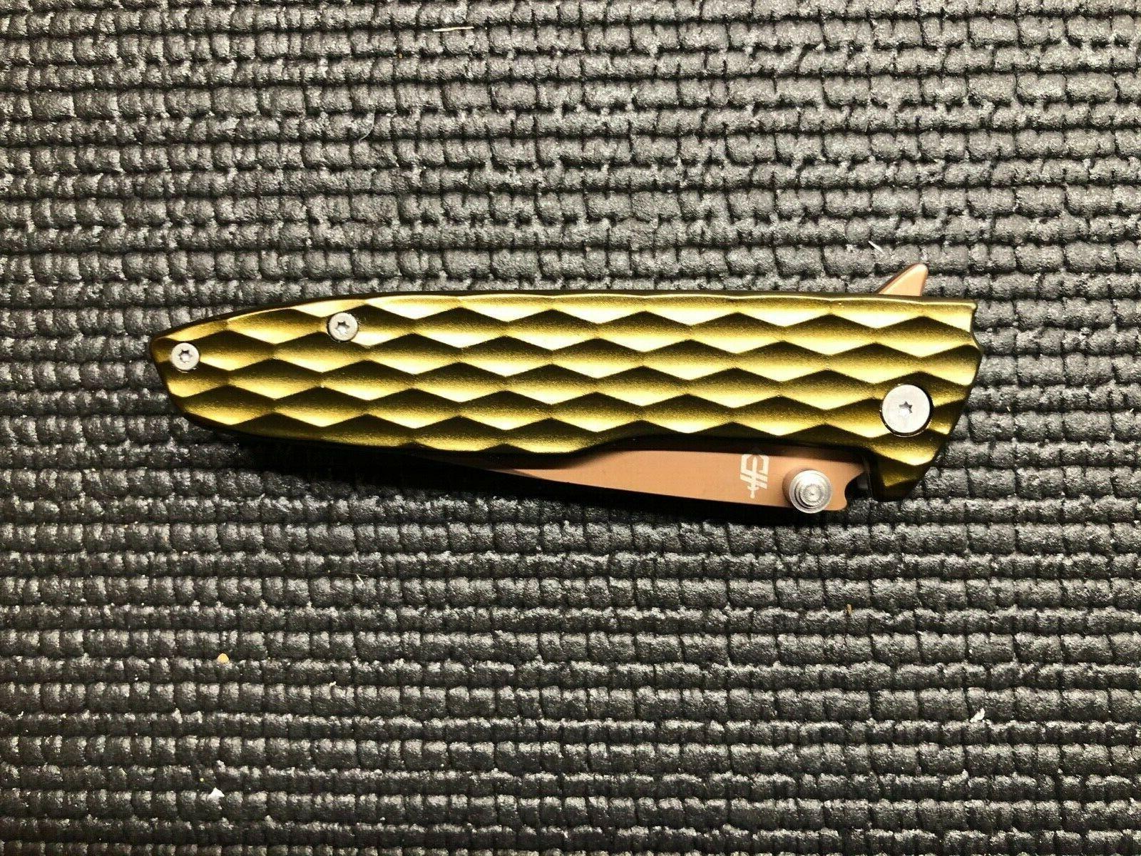 Gerber One Aluminum Flipper Knife 5Cr13MoV
